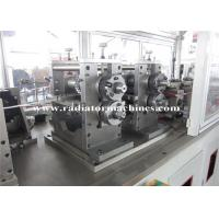 China High Speed Radiator Production Line For Making Heat Exchange Wavy Fins on sale