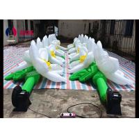 Buy cheap PVC Coated Inflatable Event Decoration LED Inflatable Flowers In Wedding from Wholesalers