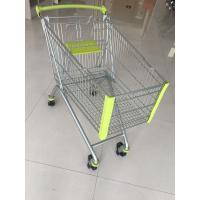Buy cheap 150L Supermarket Shopping Carts With Safety Anti-UV Plastic Parts from wholesalers