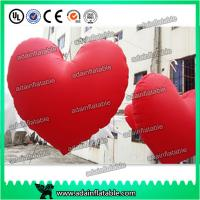 Wholesale Valentine's Day Decoration Red Inflatable Heart With LED Light For Club Hanging Decoration from china suppliers