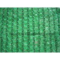 China Green flat wire plastic shade netting on sale
