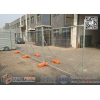 Wholesale Temporary Fence Panels with Plastic Foot Block | H 2100mmXW2400mm | AS4687-2007  Standard | China Factory from china suppliers
