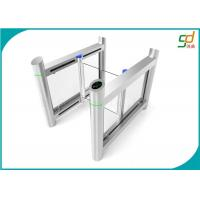 Wholesale Servo Driver Automatic Metro High Security Turnstile Slim Swing FOR Entrance from china suppliers