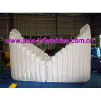 Inflatable Ingot shape Exhibition Clamshell building dome for sale