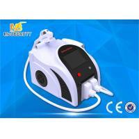 Quality White Portable 2 In 1 Ipl Shr Nd Yag Laser Tattoo Removal Equipment for sale
