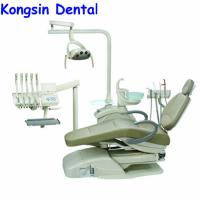 China AL-388SB Foshan Anle Environmental leather Top Mounted dental unit chair for sale