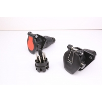 Wholesale OEM Standard EBS Screw 24v 7 Pin Trailer Socket from china suppliers
