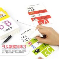 Wholesale Wipe Clean Math Flashcards For Kids , Children 'S Flash Cards Education from china suppliers