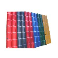 Wholesale 3.0mm Waterproof Performance Corrugated Pvc Plastic Synthetic Resin Building Roof Tiles from china suppliers
