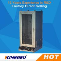 Wholesale Electric Fabric Testing Equipment Veritical With GB / T5455-97 from china suppliers