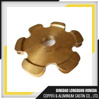 Quality Customized Brass Alloy Die Casting Parts , CNC Machining Custom Brass Casting for sale