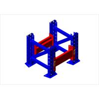 China cold roll steel pallet rack with teardrop hole on sale