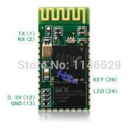 Wholesale Without bottom plate, HC-05, master-slave integration of the Bluetooth serial module from china suppliers