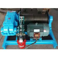 China High Performance Moterized Shipyard Use Electric Power Source Cable Pulling Winch 10 Ton 15 Tons on sale