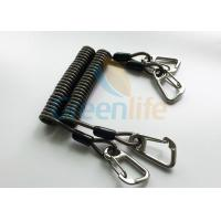 Wholesale High Security Coil Tool Lanyard Steel Reinforced 125MM Retractable Extension Cord from china suppliers