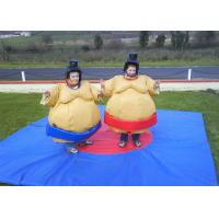 Wholesale Flame Retardant Inflatable Amusement Park With Sumo Suit For Kids from china suppliers