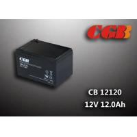 Wholesale CB12120 12AH Deep Cycle Lead Acid Battery Sealed / V0 Plastic 12v Ups Battery from china suppliers