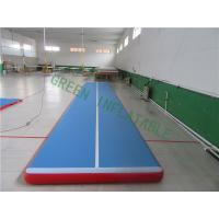 Wholesale Waterproof Inflatable Gymnastics Track , Modern Inflatable Floor Mats from china suppliers