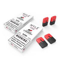 China Factory oem e-cigarette accessories 0.9ml Myle pods CUBAN ICE PEPPERMINT MANGO STRAWBERRIE for Myle flat Vape device for sale