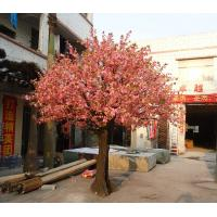 Wholesale Artificial Plastic Pink Flowers Cherry Blossom Umbrella  plastic accassion indoor from china suppliers