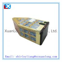 Wholesale house shaped Christmas tin box from china suppliers