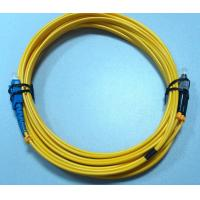 Custom 1M , 3M , 5M Fiber Optic Patch Cord FC SC Single Mode Duplex