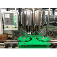 Wholesale Electric 2.25KW Pet Bottled Bverage Filling Capping Machine For Small Water Plant from china suppliers