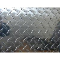 Wholesale Professional Flat Clean Aluminium Checkered Plate , Al Tread Plates with 1100 3003 5052 from china suppliers