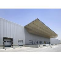 Wholesale Large Span Space Steel Structure Warehouse With Crane Beam Modern Design from china suppliers