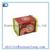 Wholesale Large Quantity Square Tea Tin Box  Wholesale from china suppliers