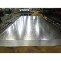 Wholesale Zero Spangle Hot Dipped Galvanized Steel Sheet , Anti-Finger Treatment ( Acrylic coating ) from china suppliers