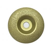 Wholesale OEM Vacuum Brazed Diamond Cup Wheel For Concrete With Hole Arbor from china suppliers