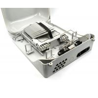 Wholesale 144 Fibers 10 x 12 SC Fiber Optic Termination Box 2 Ports 6 Trays Durable from china suppliers