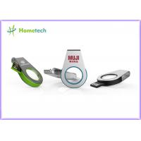 Wholesale 360° rotating USB light acrylic Mini Size Metal / Acrylic Swivel USB Flash Drive Recorder Support USB 2.0 With LED Light from china suppliers