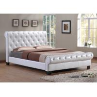 Wholesale Upholstered Bed, Upholstered Headboard, Hotel Furniture, PU Leather Bed from china suppliers