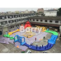 Wholesale Giant 22 * 25m Adult Amazing Inflatable Water Park With Air Blower / Repair Material from china suppliers