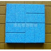 Wholesale Fire Retardant Custom Rubber Gym Floor Tiles / Outdoor Flooring from china suppliers