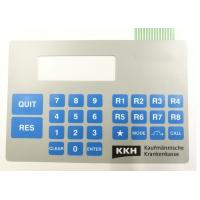 Wholesale Customized High Quality Double Tail Embossed Tactile Membrane Switch from china suppliers