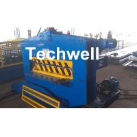 Wholesale CE Approved Cold Roll Forming Machine , Metal Roof Bending Machine With Adjustable Speed from china suppliers