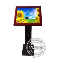 Wholesale Full HD Sensor Touch Screen Kiosk Digital Signage , 19 Inch LCD Advertising Players from china suppliers