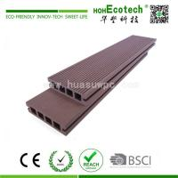 China Low cost outdoor wpc composite decking on sale