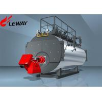 Fuel Oil Fired Steam Boiler ON - OFF Computer Control Operation 20℃ Feedwater Temp