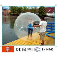 China Advertising Double layer 1.0mm TPU Inflatable walking water ball for water games on sale