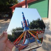 Buy cheap Extruded Plastic 0.5mm Super Clear Pet mirror Sheet / PET Plastic mirror Sheet from wholesalers