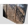 Glossy Polished Emperador Dark Marble Slab No Scratch No Magnetization for sale