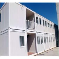 Quality Fast Build Container House Prefab ,  Duplex Prefab Shipping Container House For Living Office Dormitory for sale