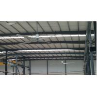 China Aerodynamic 4-Blade Large Industrial Ceiling Fan , 20ft HVLS Electric Ceiling Fan on sale