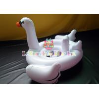 China Giant Swan Pool Float , Inflatable Pool Toys Flamingo Unicorn For Fun Play on sale