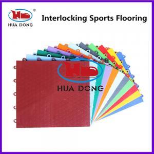 China Anti-Slip Resistance Suspended Interlocking Sports Flooring on sale