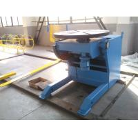 China Horizontal Automatic Welding Positioner , 3 Ton Weld Positioner Turing Tables on sale